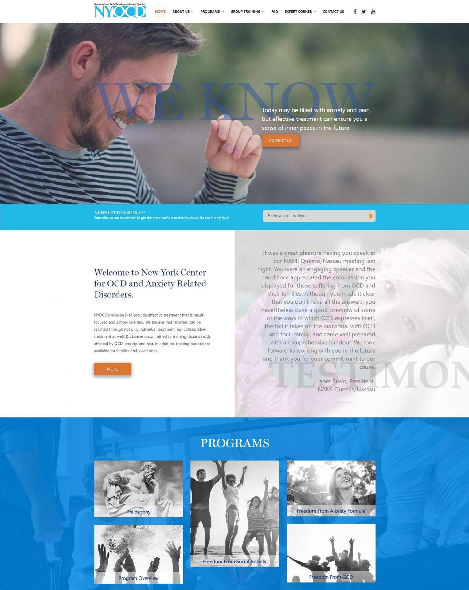NYOCD-Homepage
